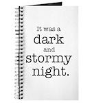 Dark and Stormy Night Journal