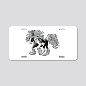 Gypsy Vanner Aluminum License Plate