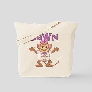 Little Monkey Dawn Tote Bag