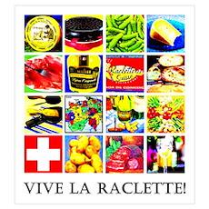 Vive la Raclette! Poster