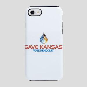 SAVE KANSAS iPhone 7 Tough Case