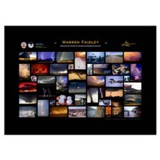 Warren Faidley - Commemorative 20 year Poster