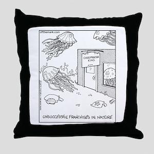 Jellyfish Chiropractors Throw Pillow