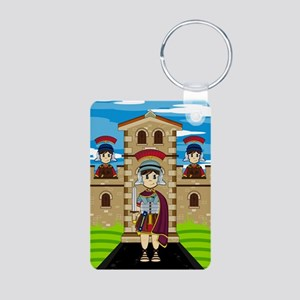 Roman Soldiers at Fort Keychain