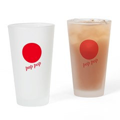 Pop Pop Drinking Glass