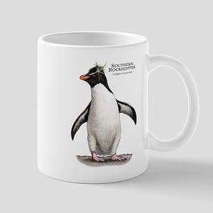 Southern Rockhopper Penguin Mug