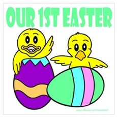 OUR FIRST EASTER Poster