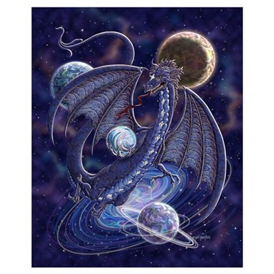 Celestial Dragon Small 16x20 Poster
