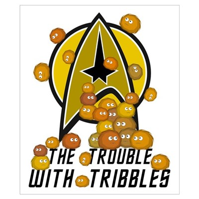 Trouble With Tribbles Poster
