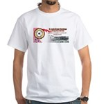 Brown Stockings Banner White T-Shirt