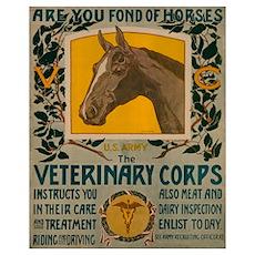 VETERINARY CORPS 16x20 Poster