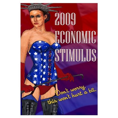 Economic Stimulus Propaganda Canvas Art