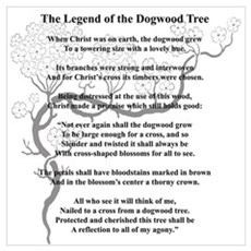 """Dogwood Tree Legend"" Poster"