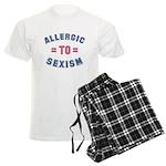 Allergic to Sexism Men's Light Pajamas