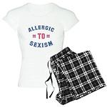 Allergic to Sexism Women's Light Pajamas