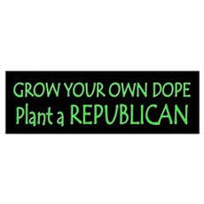 Grow Your Own Dope Framed Print