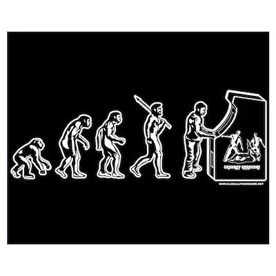 Gamer Evolution Poster
