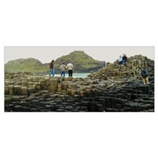 Giant's Causeway Climbers Poster