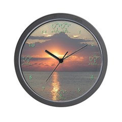 Sunrise Sunset Wall Clock