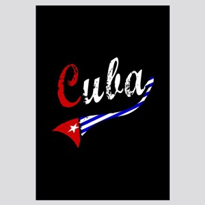 Cuba Flag Distressed