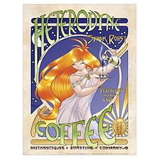 Spark Roast Coffee Poster