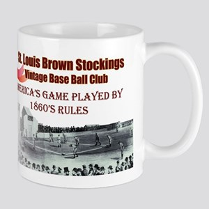 Brown Stockings Banner Mug