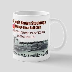 Brown Stockings Banner Mug