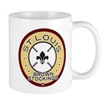 Brown Stockings Logo Mug