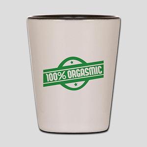 100% orgasmic Shot Glass