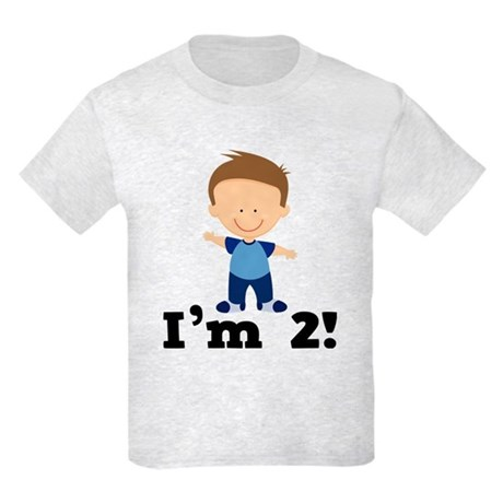 2 Year Old Boy Birthday Kids Light T-Shirt