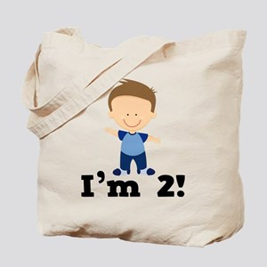 2 Year Old Boy Birthday Tote Bag
