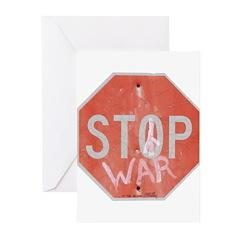 STOP WAR III Greeting Cards (Pk of 10)