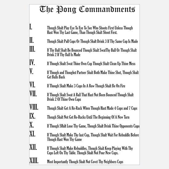 The Pong Commandments