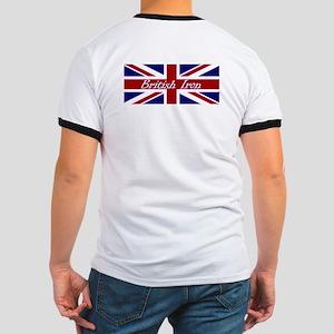 British Iron Logo on Back Ringer T