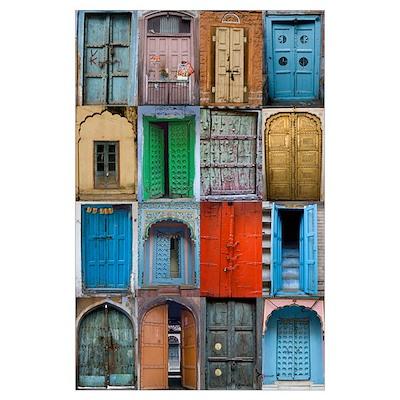 Doors of India Poster