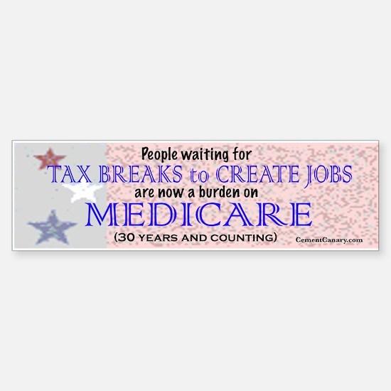 Medicare Bumper Bumper Bumper Sticker