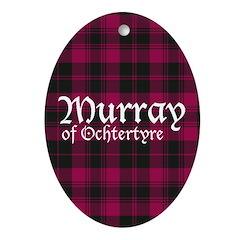 Tartan - Murray of Ochtertyre Ornament (Oval)