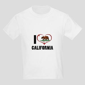 I Love California Kids Light T-Shirt