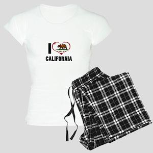 I Love California Women's Light Pajamas
