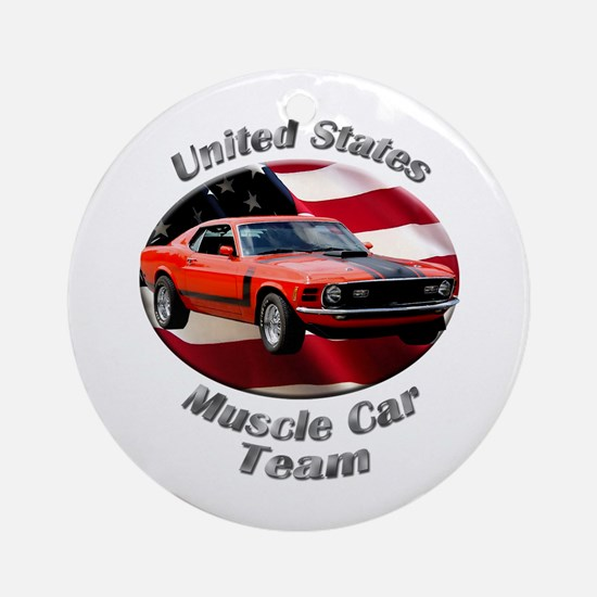 Ford Mustang Boss 351 Ornament (Round)