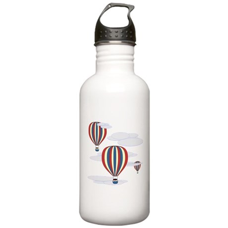 Hot Air Balloon Sky Stainless Water Bottle 1.0L