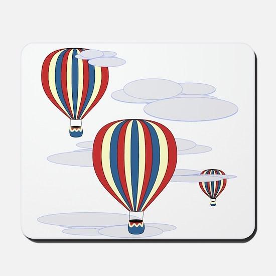 Hot Air Balloon Sky Mousepad