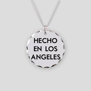 Hecho en Los Angeles Necklace Circle Charm