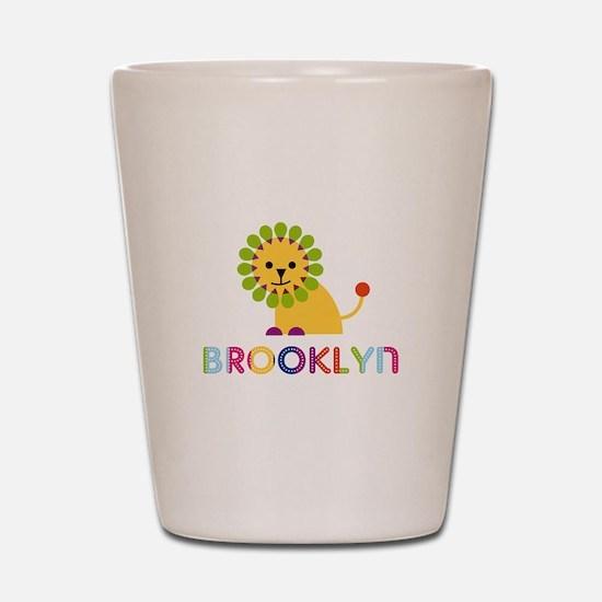 Brooklyn the Lion Shot Glass