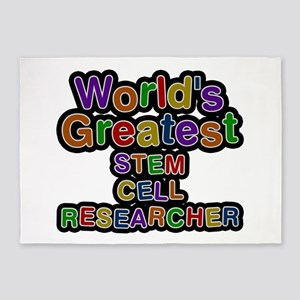 World's Greatest STEM CELL RESEARCHER 5'x7' Area R