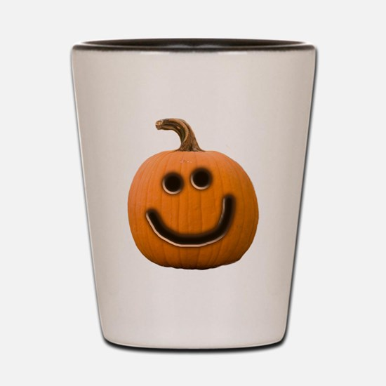 Happy Cute Jack O'Lantern Shot Glass