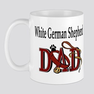 White German Shepherd Dad Mug