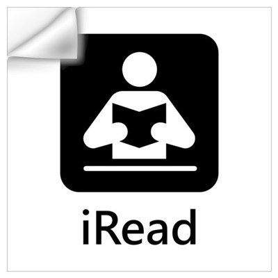 iRead Wall Decal