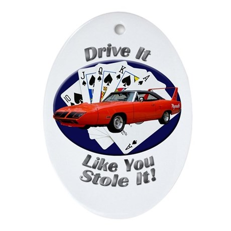 Plymouth Superbird Ornament (Oval)