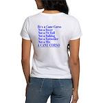 He's a Cane Corso explained Women's T-Shirt